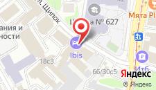 Гостиница Ибис Москва Павелецкая на карте