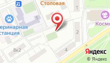 Семейный отель Звездный Бульвар на карте