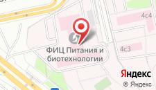 Гостиница Заречье АВ на карте