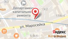 Хостел Comrade на карте