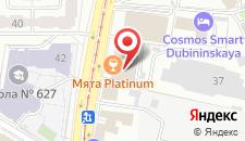 Гостиница Валс на карте