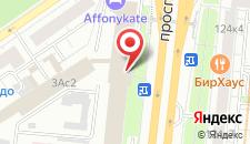 Отель Вива на карте