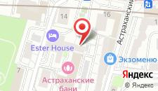 Мини-гостиница Астра на карте