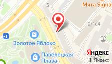 Хостелы Рус - Павелецкая Площадь на карте