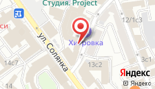 Отель Хитровка на карте