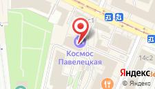 Гостиница Кортъярд Москва Павелецкая на карте