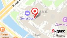 Гостиница SWISSOTEL Красные Холмы на карте