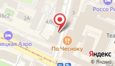 Хостел ПЛЕД на Павелецкой на карте
