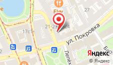 Отель На Покровке на карте