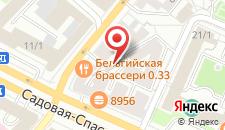 Мини-гостиница АВИТА Красные Ворота на карте