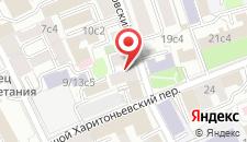 Мини-гостиница Red Gates на карте