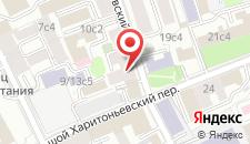 Гостиница Ладомир на Садовом на карте