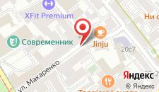Отель Спутник на карте