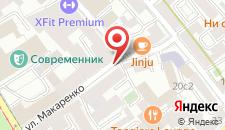 Мини-отель Спутник на карте
