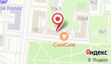 Хостел на ВДНХ на карте