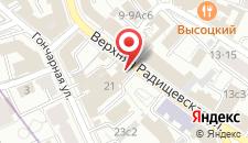 Гостиница На Радищевской на карте