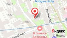 Хостел Амиго Курская на карте
