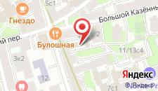 Гостиница Альт-отель на Курской на карте
