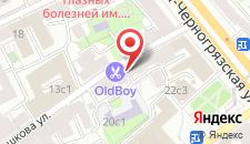Хостел Москва 2000 на Машкова на карте