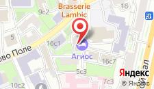 Гостиница Агиос на Курской на карте