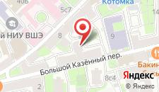 Мини-отель Пафос на Курской на карте