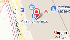 Отель ГородОтель на Казанском на карте