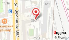 Хостел Котики на карте