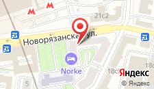 Гостиница Ах-Отель на Комсомольской на карте