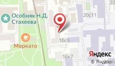 Хостел Артдесон на Басманной на карте