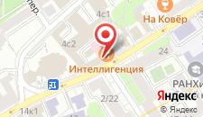 Гостиница СВ на Таганке на карте