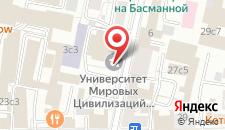 Мини-отель на Басманном на карте