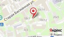 Хостел Артист на Курской на карте