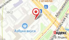 Хостел Teddy на Пролетарской на карте