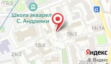 Хостел МХ Гороховский на карте