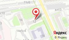 Отель Милана на Дубровской на карте