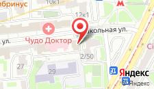 Отель Метрополис на карте