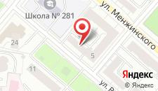 Отель Аркада на карте