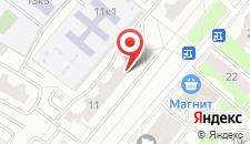Апартаменты ApartLux на Бабушкинской на карте