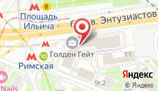 Хостел Нетизен на карте