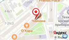 Отель Юджин на карте