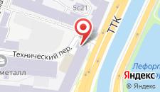 Гостиница Лефортовский мост на карте