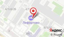 Гостиница Лефортово на карте