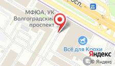 Хостел Москвич на карте