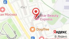Гостиница Царицыно на карте