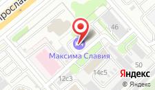 Отель Максима Славия на карте