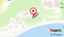 База отдыха Садко на карте
