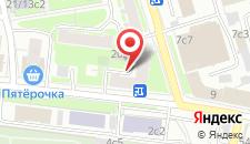 Мини-отель Лефорт на карте