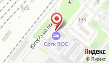 Отель НУ СРГК ВОС на карте