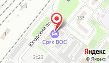 Гостиница НУ СРГК ВОС на карте