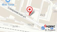 Гостиница на Смирновской 25 на карте